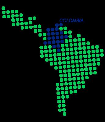 MAP-CIPRES-COLOMBIA